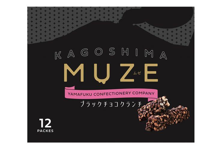 MUZE ブラックチョコクランチ12枚入り